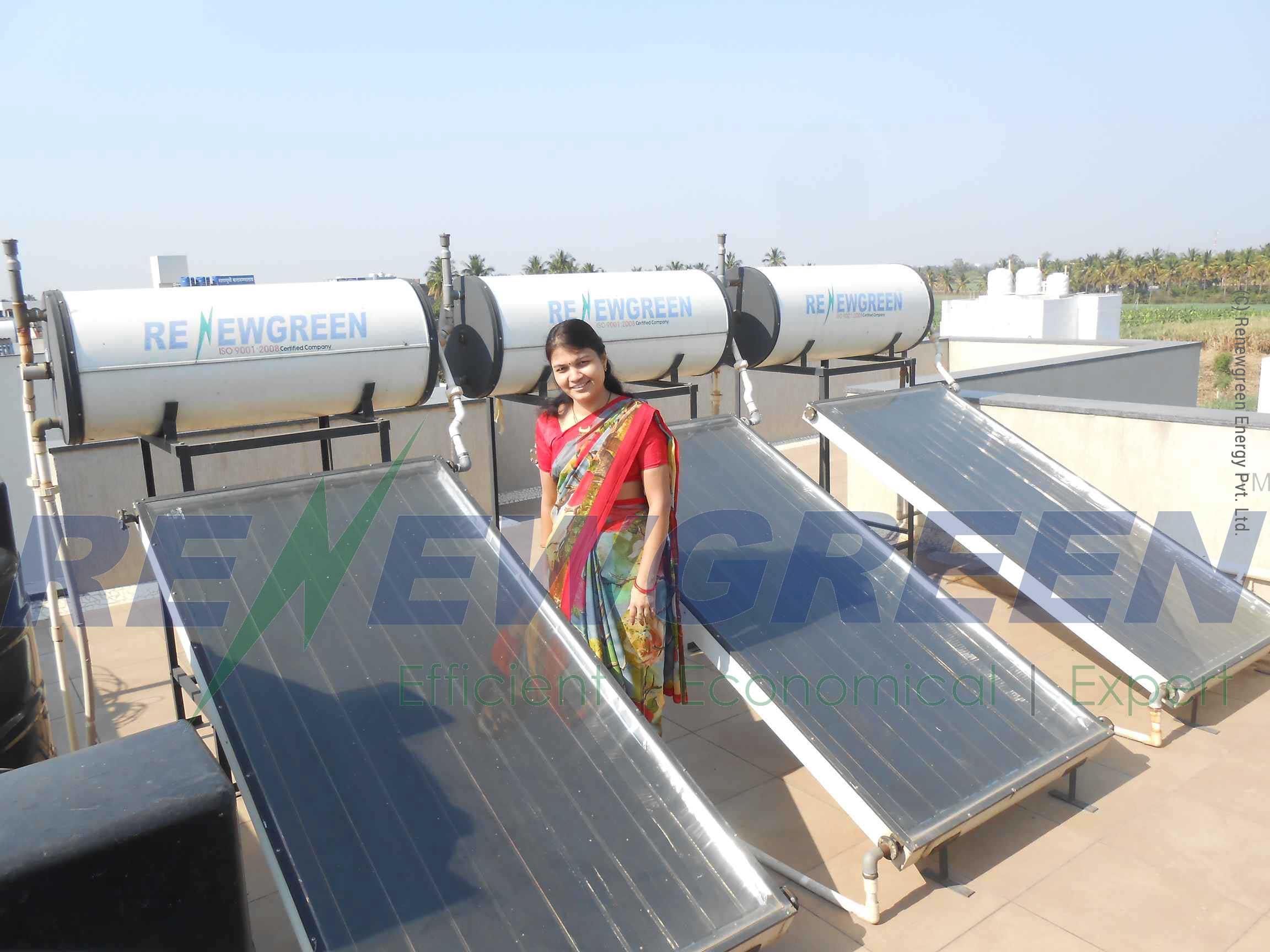 Solar Water Heater | Renewgreen Energy